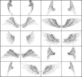 Кисти для фотошоп крылья ангела